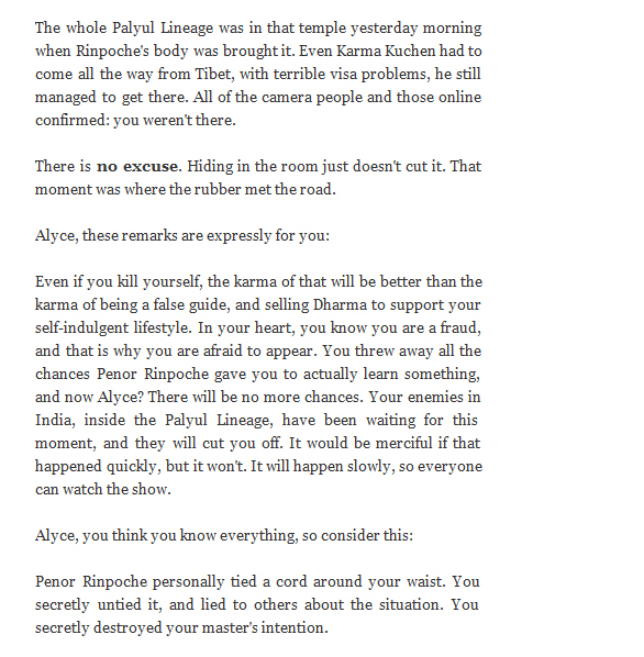 screenshot of a blogpost from radiofreepalyul posted on 4-9-09